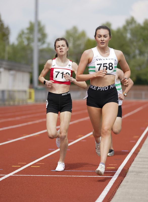 _A9A2277.jpg :: Newport, Wales, 1, May, 2021,Pictured in action,, During Welsh Athletics Invitational,Credit:, Graham Glendinning,/ Alamy Live News