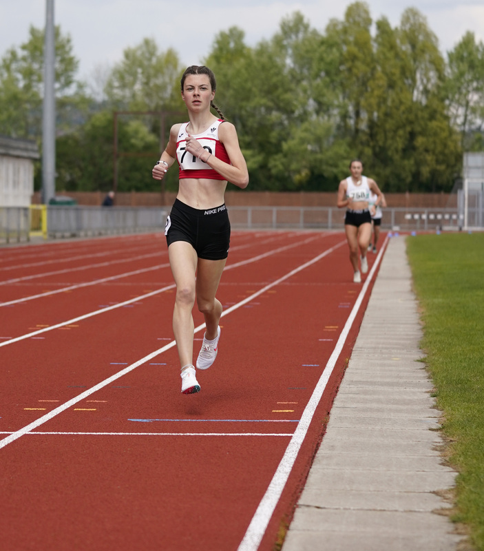 _A9A2312.jpg :: Newport, Wales, 1, May, 2021,Pictured in action,, During Welsh Athletics Invitational,Credit:, Graham Glendinning,/ Alamy Live News