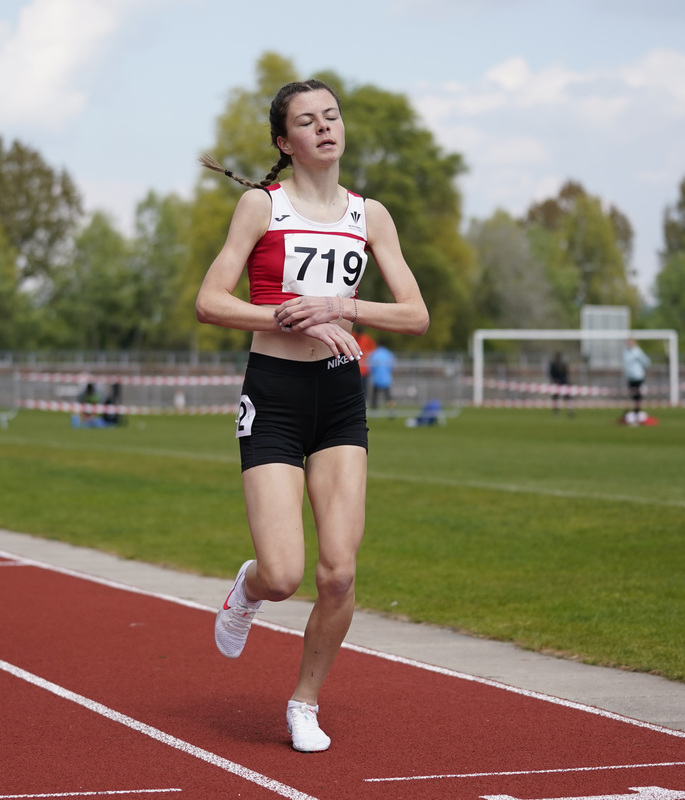 _A9A2347.jpg :: Newport, Wales, 1, May, 2021,Pictured in action,, During Welsh Athletics Invitational,Credit:, Graham Glendinning,/ Alamy Live News