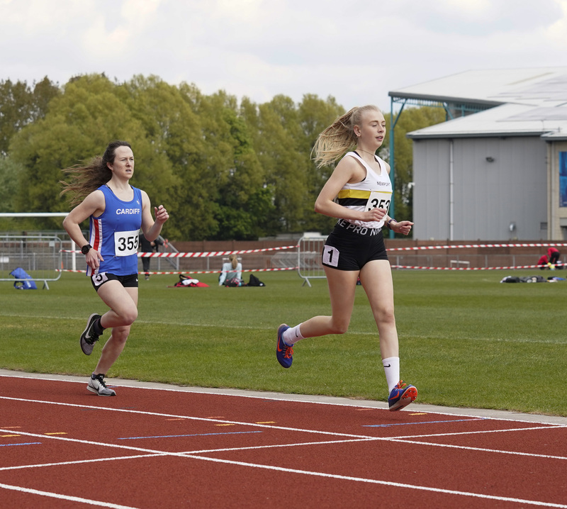 _A9A2358.jpg :: Newport, Wales, 1, May, 2021,Pictured in action,, During Welsh Athletics Invitational,Credit:, Graham Glendinning,/ Alamy Live News