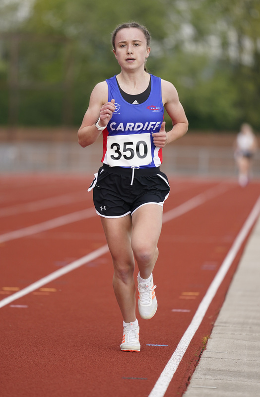 _A9A2389.jpg :: Newport, Wales, 1, May, 2021,Pictured in action,, During Welsh Athletics Invitational,Credit:, Graham Glendinning,/ Alamy Live News