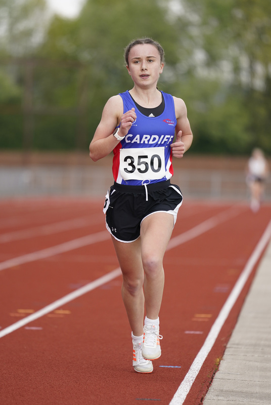 _A9A2390.jpg :: Newport, Wales, 1, May, 2021,Pictured in action,, During Welsh Athletics Invitational,Credit:, Graham Glendinning,/ Alamy Live News