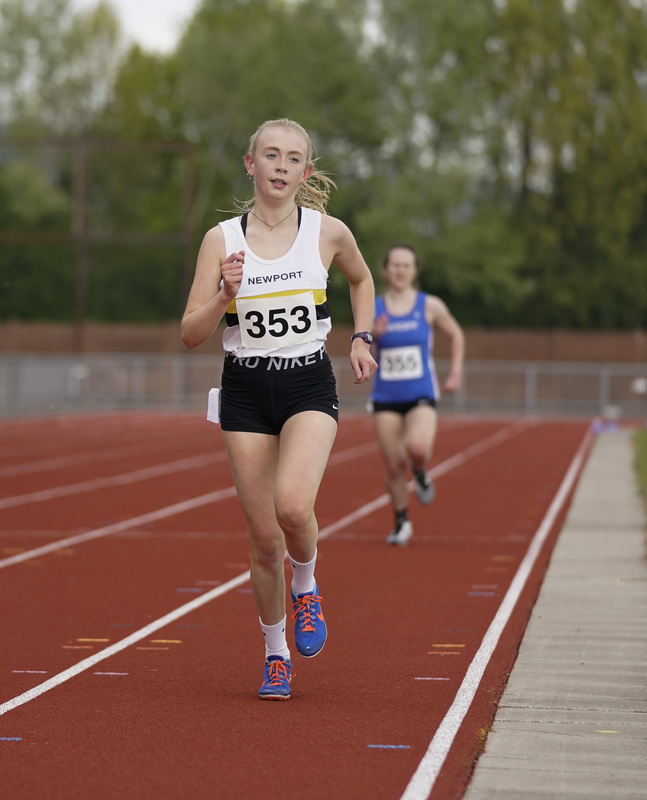 _A9A2397.jpg :: Newport, Wales, 1, May, 2021,Pictured in action,, During Welsh Athletics Invitational,Credit:, Graham Glendinning,/ Alamy Live News