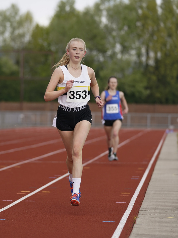 _A9A2399.jpg :: Newport, Wales, 1, May, 2021,Pictured in action,, During Welsh Athletics Invitational,Credit:, Graham Glendinning,/ Alamy Live News