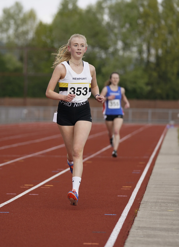_A9A2400.jpg :: Newport, Wales, 1, May, 2021,Pictured in action,, During Welsh Athletics Invitational,Credit:, Graham Glendinning,/ Alamy Live News