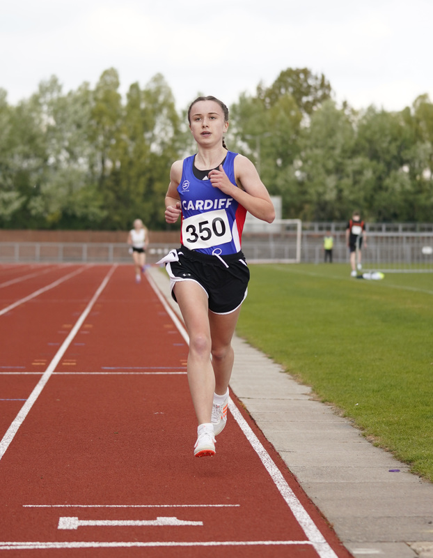 _A9A2468.jpg :: Newport, Wales, 1, May, 2021,Pictured in action,, During Welsh Athletics Invitational,Credit:, Graham Glendinning,/ Alamy Live News