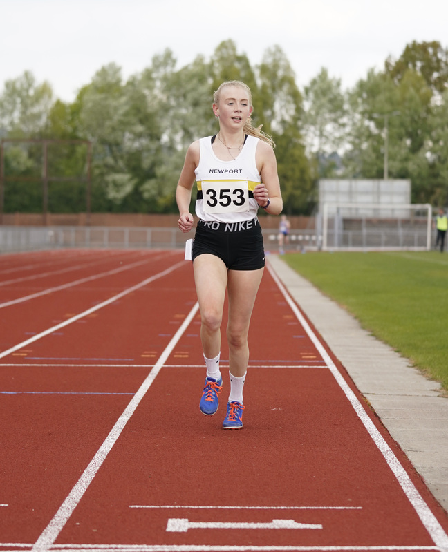 _A9A2472.jpg :: Newport, Wales, 1, May, 2021,Pictured in action,, During Welsh Athletics Invitational,Credit:, Graham Glendinning,/ Alamy Live News