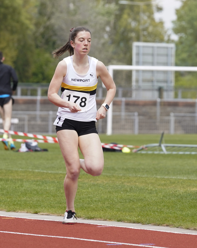_A9A2523.jpg :: Newport, Wales, 1, May, 2021,Pictured in action,, During Welsh Athletics Invitational,Credit:, Graham Glendinning,/ Alamy Live News