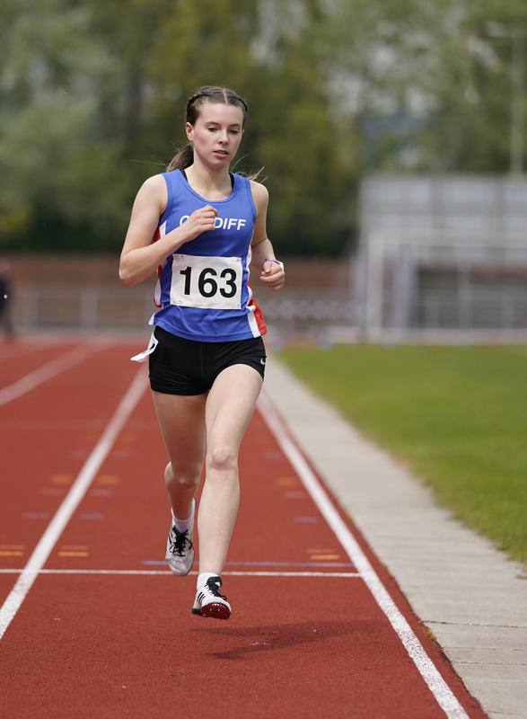 _A9A2556.jpg :: Newport, Wales, 1, May, 2021,Pictured in action,, During Welsh Athletics Invitational,Credit:, Graham Glendinning,/ Alamy Live News