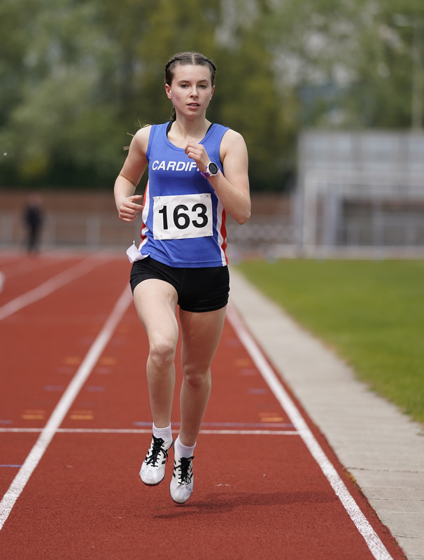 _A9A2562.jpg :: Newport, Wales, 1, May, 2021,Pictured in action,, During Welsh Athletics Invitational,Credit:, Graham Glendinning,/ Alamy Live News