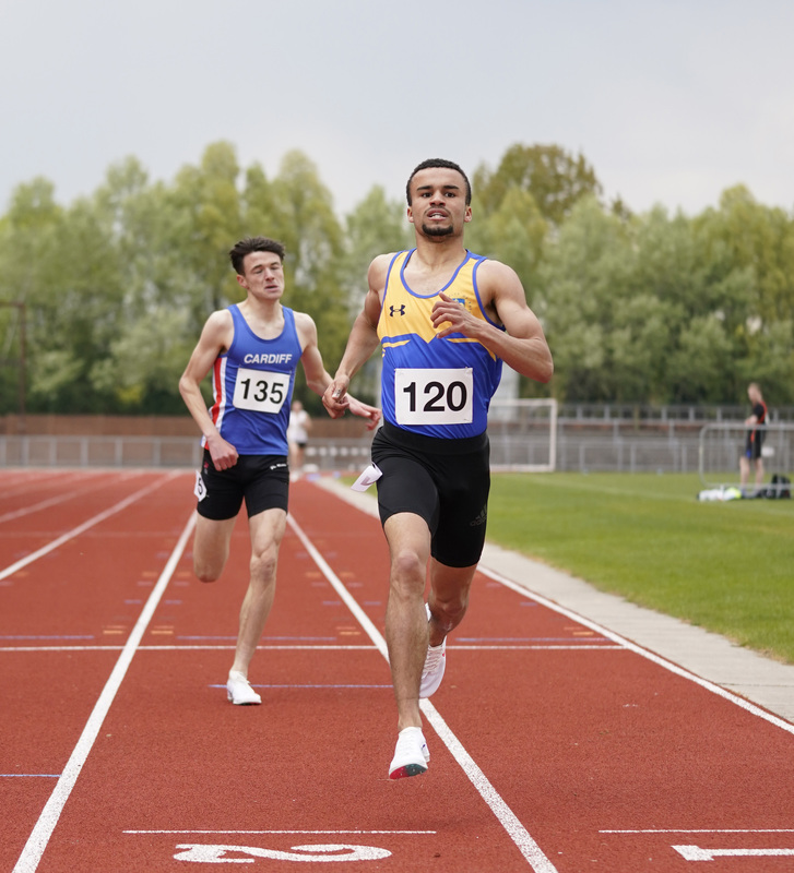 _A9A2599.jpg :: Newport, Wales, 1, May, 2021,Pictured in action,, During Welsh Athletics Invitational,Credit:, Graham Glendinning,/ Alamy Live News