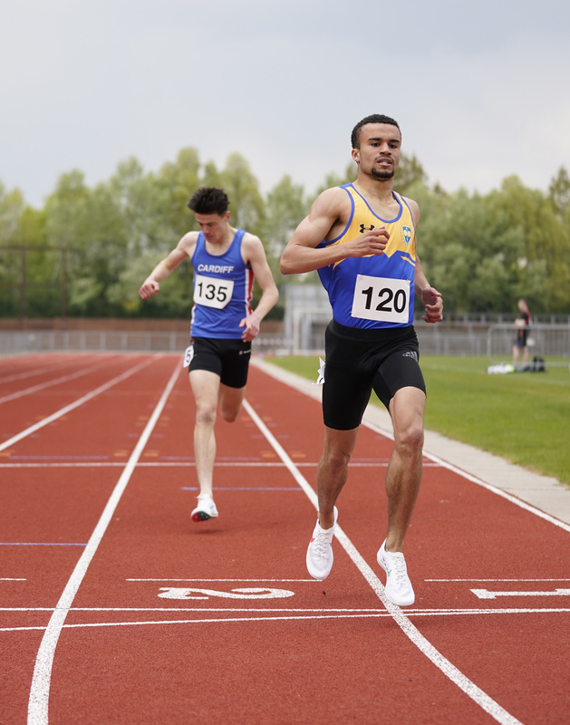 _A9A2605.jpg :: Newport, Wales, 1, May, 2021,Pictured in action,, During Welsh Athletics Invitational,Credit:, Graham Glendinning,/ Alamy Live News