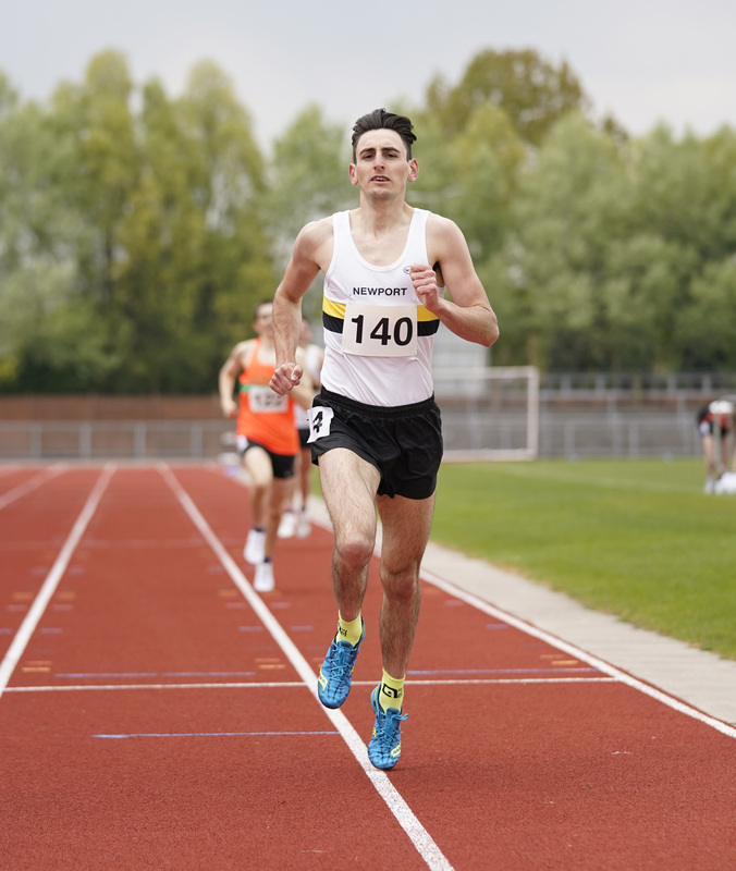 _A9A2613.jpg :: Newport, Wales, 1, May, 2021,Pictured in action,, During Welsh Athletics Invitational,Credit:, Graham Glendinning,/ Alamy Live News