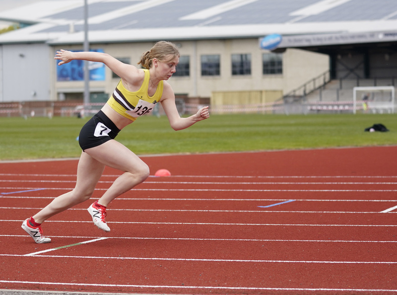 _A9A2641.jpg :: Newport, Wales, 1, May, 2021,Pictured in action,, During Welsh Athletics Invitational,Credit:, Graham Glendinning,/ Alamy Live News