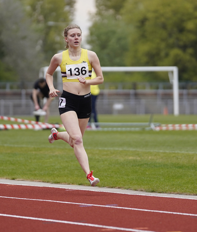 _A9A2670.jpg :: Newport, Wales, 1, May, 2021,Pictured in action,, During Welsh Athletics Invitational,Credit:, Graham Glendinning,/ Alamy Live News