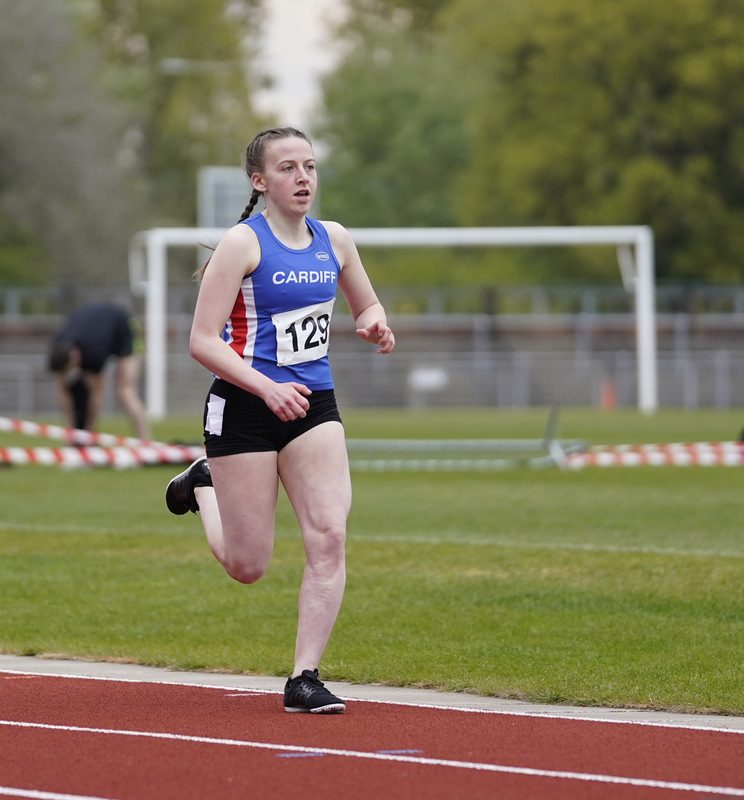 _A9A2672.jpg :: Newport, Wales, 1, May, 2021,Pictured in action,, During Welsh Athletics Invitational,Credit:, Graham Glendinning,/ Alamy Live News