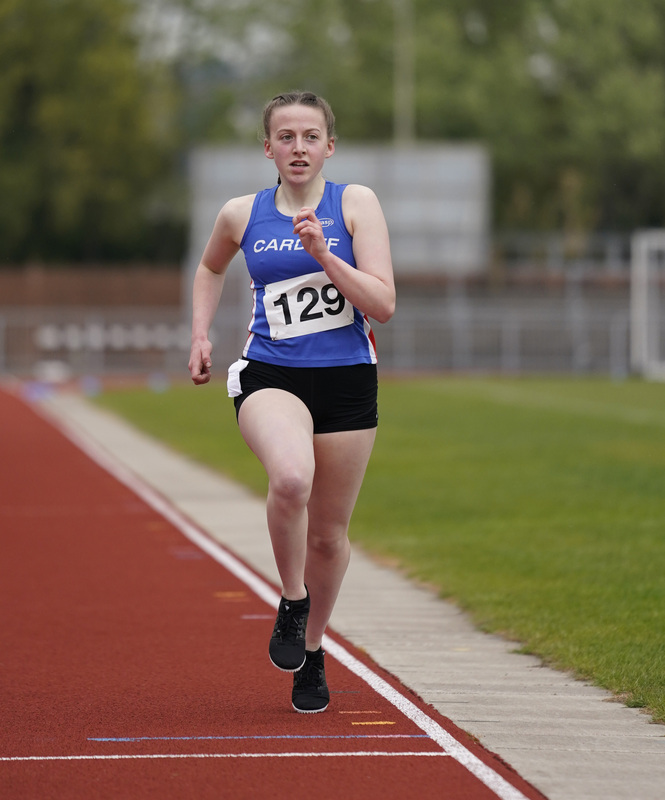 _A9A2705.jpg :: Newport, Wales, 1, May, 2021,Pictured in action,, During Welsh Athletics Invitational,Credit:, Graham Glendinning,/ Alamy Live News