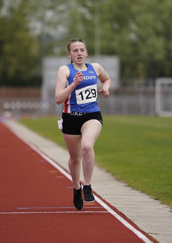 _A9A2712.jpg :: Newport, Wales, 1, May, 2021,Pictured in action,, During Welsh Athletics Invitational,Credit:, Graham Glendinning,/ Alamy Live News