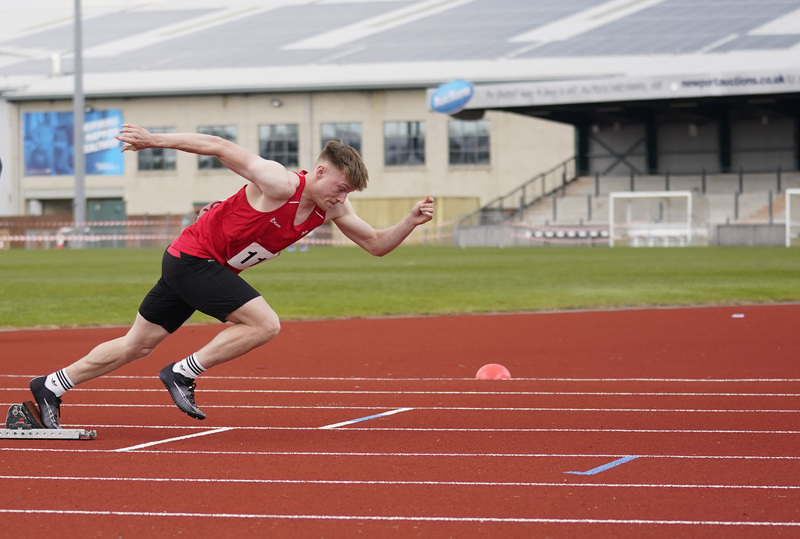 _A9A2717.jpg :: Newport, Wales, 1, May, 2021,Pictured in action,, During Welsh Athletics Invitational,Credit:, Graham Glendinning,/ Alamy Live News