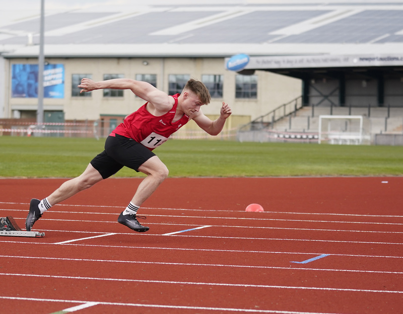 _A9A2718.jpg :: Newport, Wales, 1, May, 2021,Pictured in action,, During Welsh Athletics Invitational,Credit:, Graham Glendinning,/ Alamy Live News