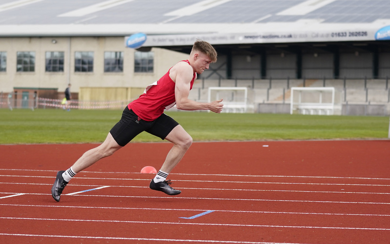 _A9A2723.jpg :: Newport, Wales, 1, May, 2021,Pictured in action,, During Welsh Athletics Invitational,Credit:, Graham Glendinning,/ Alamy Live News