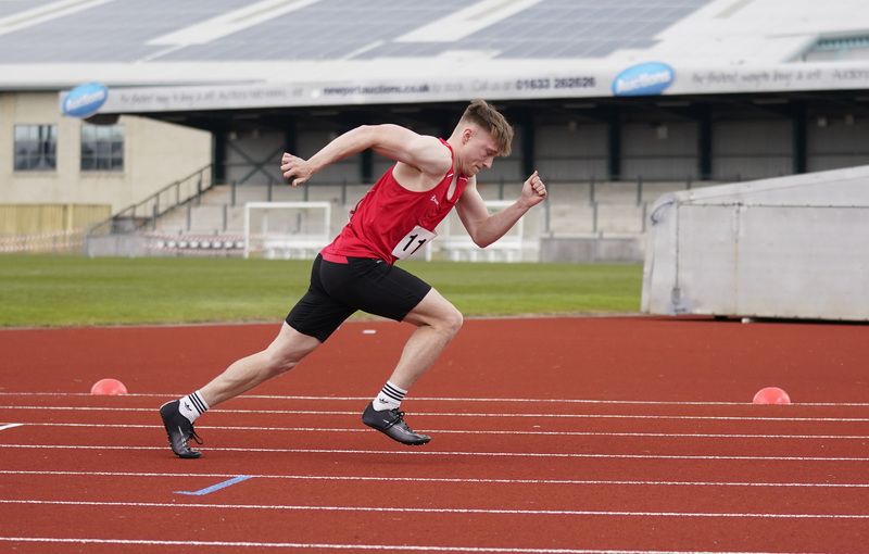 _A9A2727.jpg :: Newport, Wales, 1, May, 2021,Pictured in action,, During Welsh Athletics Invitational,Credit:, Graham Glendinning,/ Alamy Live News