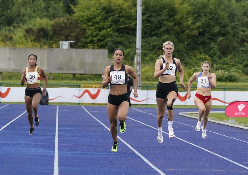 _A9A5936.jpg :: Cardiff,UK,  14 Aug 2021  Seen in action during the  at Leckwith Stadium Cardiff United Kingdom on August 14 2021 GlennSports