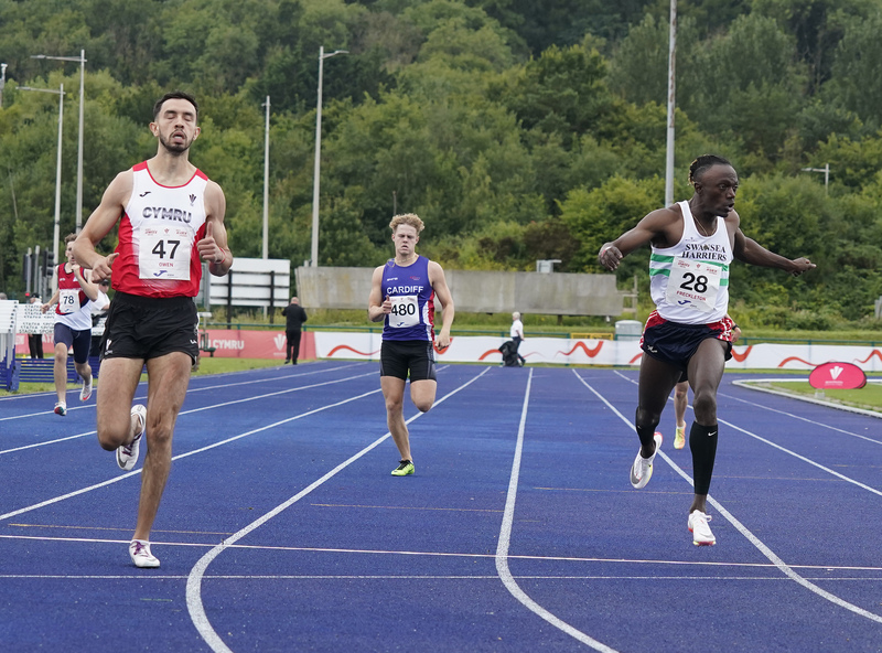 _A9A5956.jpg :: Cardiff,UK,  14 Aug 2021  Seen in action during the  at Leckwith Stadium Cardiff United Kingdom on August 14 2021 GlennSports