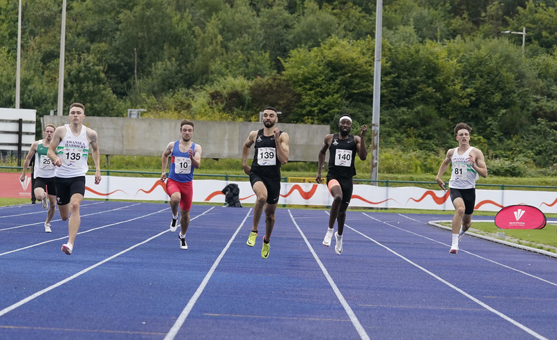 _A9A5964.jpg :: Cardiff,UK,  14 Aug 2021  Seen in action during the  at Leckwith Stadium Cardiff United Kingdom on August 14 2021 GlennSports