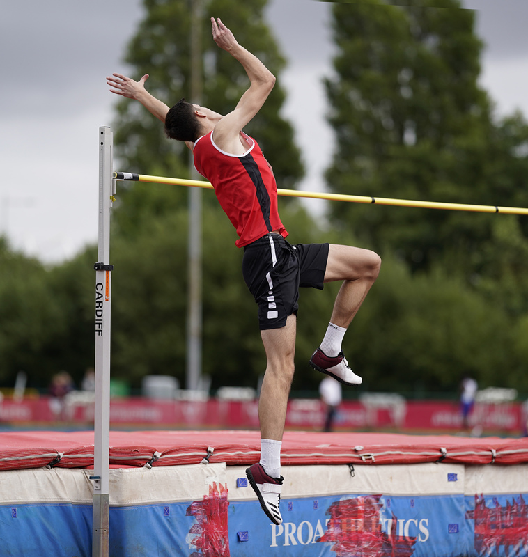 _A9A6442(1).jpg :: Cardiff,UK,  15 Aug 2021  Seen in action during the  at Leckwith Stadium Cardiff United Kingdom on August 15 2021 GlennSports