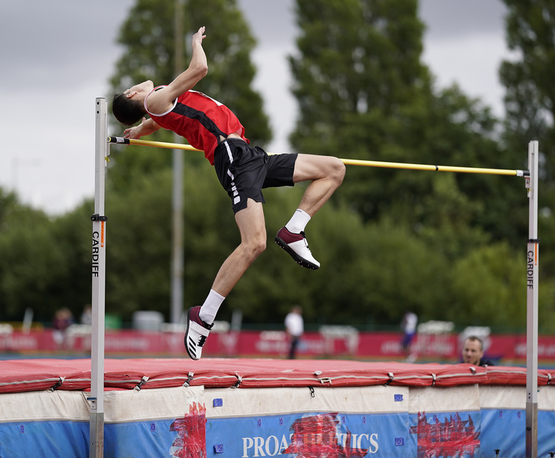_A9A6443(1).jpg :: Cardiff,UK,  15 Aug 2021  Seen in action during the  at Leckwith Stadium Cardiff United Kingdom on August 15 2021 GlennSports