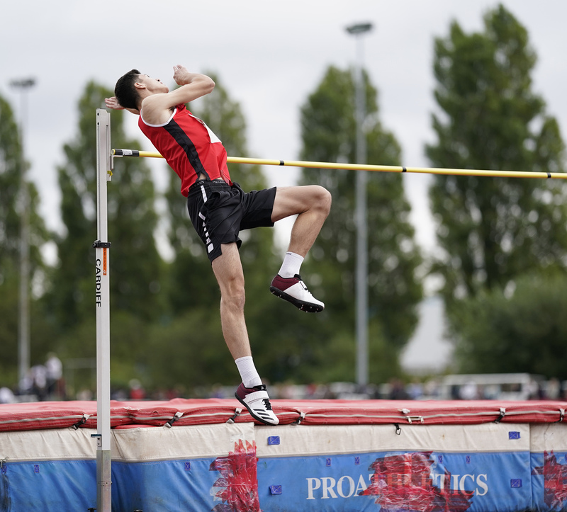 _A9A6458(1).jpg :: Cardiff,UK,  15 Aug 2021  Seen in action during the  at Leckwith Stadium Cardiff United Kingdom on August 15 2021 GlennSports
