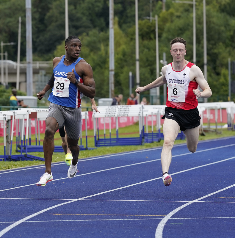 _A9A6484.jpg :: Cardiff,UK,  15 Aug 2021  Seen in action during the  at Leckwith Stadium Cardiff United Kingdom on August 15 2021 GlennSports