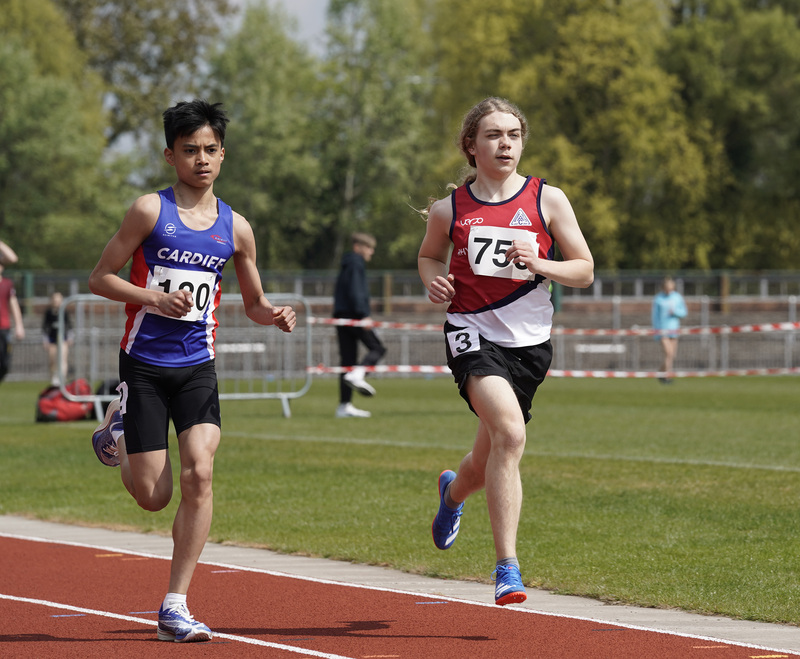 _A9B3439.jpg :: Newport, Wales, 1, May, 2021,Pictured in action,, During Welsh Athletics Invitational,Credit:, Graham Glendinning,/ Alamy Live News