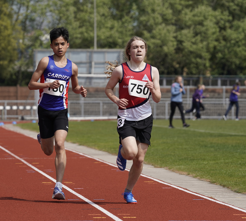_A9B3441.jpg :: Newport, Wales, 1, May, 2021,Pictured in action,, During Welsh Athletics Invitational,Credit:, Graham Glendinning,/ Alamy Live News