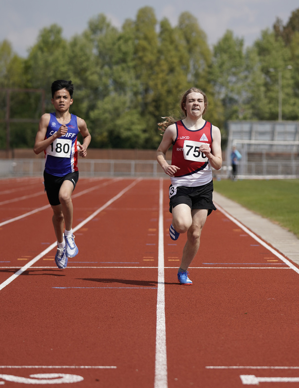 _A9B3467.jpg :: Newport, Wales, 1, May, 2021,Pictured in action,, During Welsh Athletics Invitational,Credit:, Graham Glendinning,/ Alamy Live News