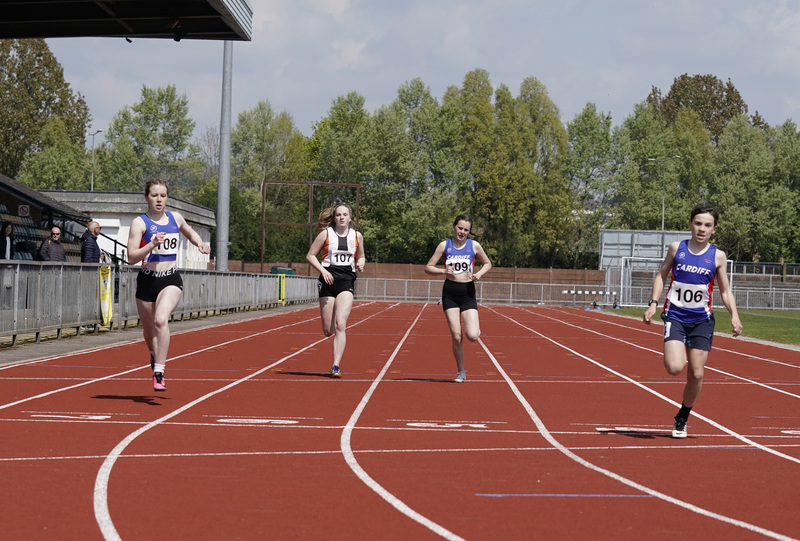_A9B3554.jpg :: Newport, Wales, 1, May, 2021,Pictured in action,, During Welsh Athletics Invitational,Credit:, Graham Glendinning,/ Alamy Live News