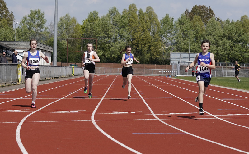 _A9B3557.jpg :: Newport, Wales, 1, May, 2021,Pictured in action,, During Welsh Athletics Invitational,Credit:, Graham Glendinning,/ Alamy Live News