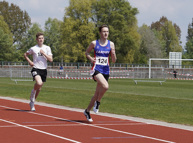 _A9B3565.jpg :: Newport, Wales, 1, May, 2021,Pictured in action,, During Welsh Athletics Invitational,Credit:, Graham Glendinning,/ Alamy Live News