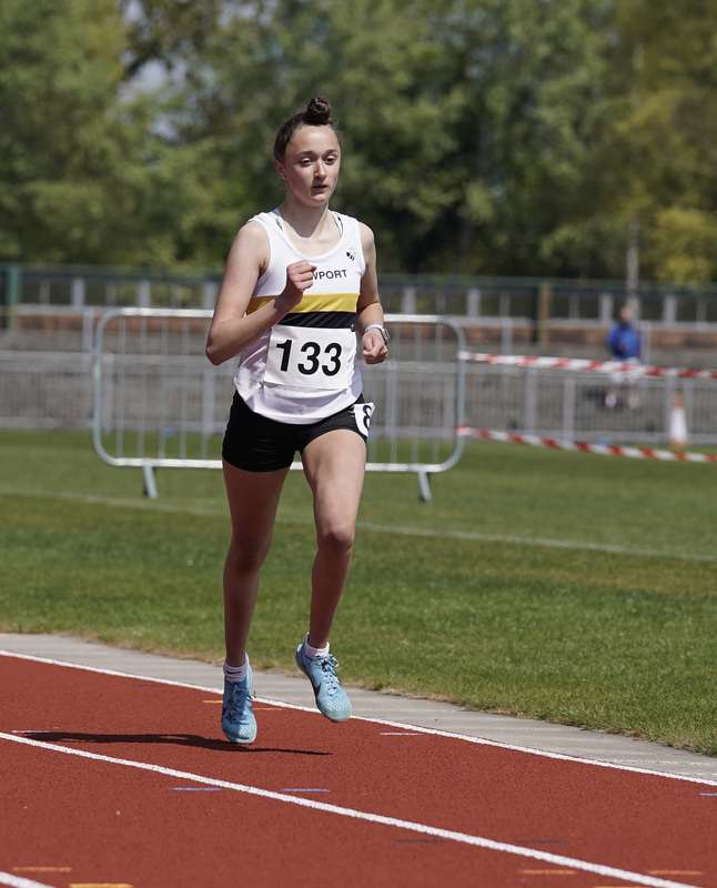 _A9B3570.jpg :: Newport, Wales, 1, May, 2021,Pictured in action,, During Welsh Athletics Invitational,Credit:, Graham Glendinning,/ Alamy Live News
