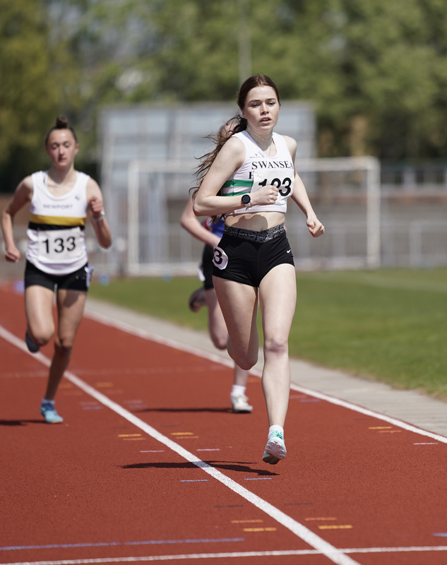 _A9B3594.jpg :: Newport, Wales, 1, May, 2021,Pictured in action,, During Welsh Athletics Invitational,Credit:, Graham Glendinning,/ Alamy Live News