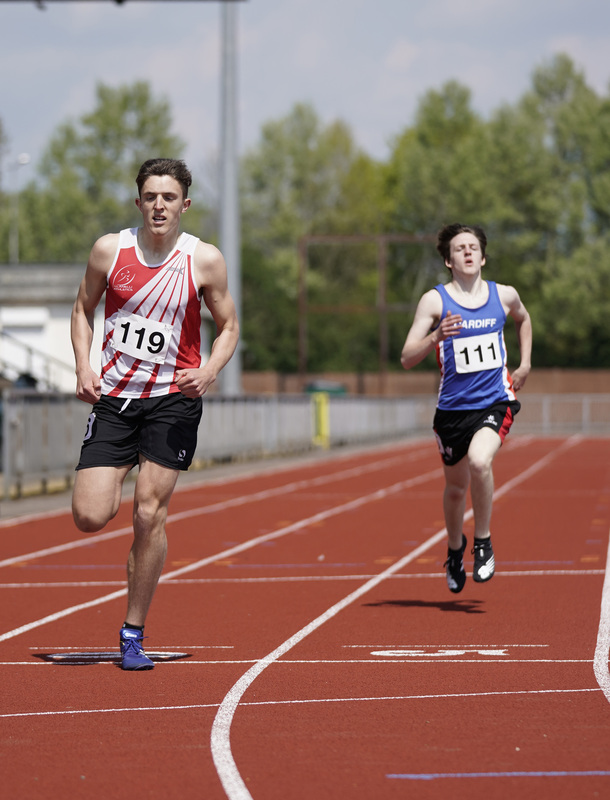 _A9B3703.jpg :: Newport, Wales, 1, May, 2021,Pictured in action,, During Welsh Athletics Invitational,Credit:, Graham Glendinning,/ Alamy Live News