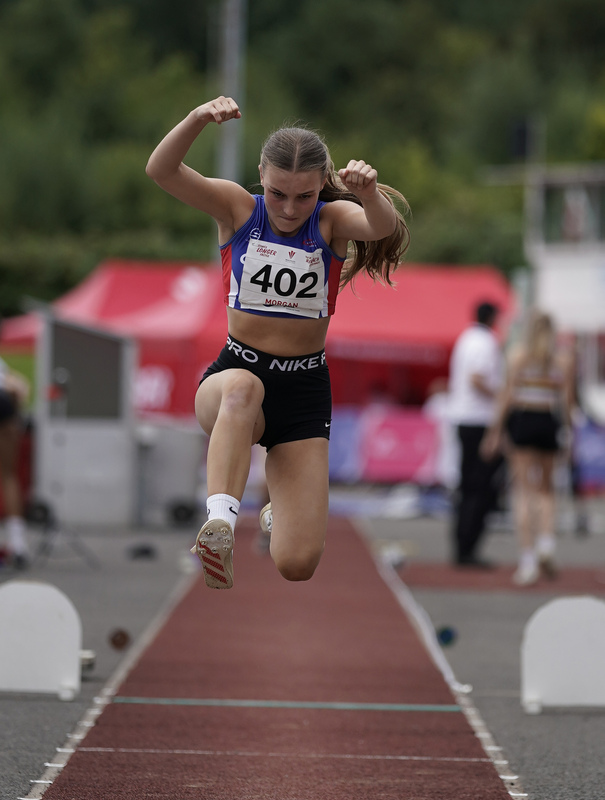 _A9B9411.jpg :: Cardiff,UK,  14 Aug 2021  Seen in action during the  at Leckwith Stadium Cardiff United Kingdom on August 14 2021 GlennSports