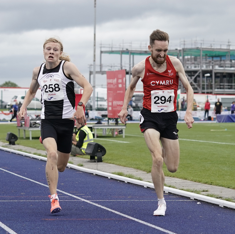 _A9B9913.jpg :: Cardiff,UK,  15 Aug 2021  Seen in action during the  at Leckwith Stadium Cardiff United Kingdom on August 15 2021 GlennSports
