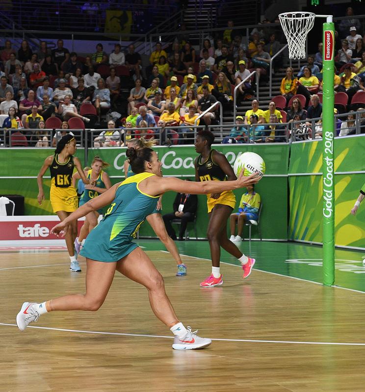 _GRG0051.jpg :: Wales v Scotland in action during Gold Coast 2018 Games at Gold Coast Convention Centre Gold Coast Australia on April 11 2018. Graham / GlennSports.