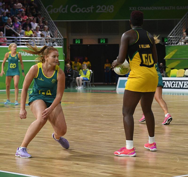 _GRG0089.jpg :: Wales v Scotland in action during Gold Coast 2018 Games at Gold Coast Convention Centre Gold Coast Australia on April 11 2018. Graham / GlennSports.