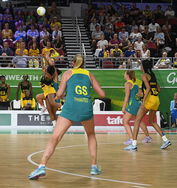 _GRG0100.jpg :: Wales v Scotland in action during Gold Coast 2018 Games at Gold Coast Convention Centre Gold Coast Australia on April 11 2018. Graham / GlennSports.