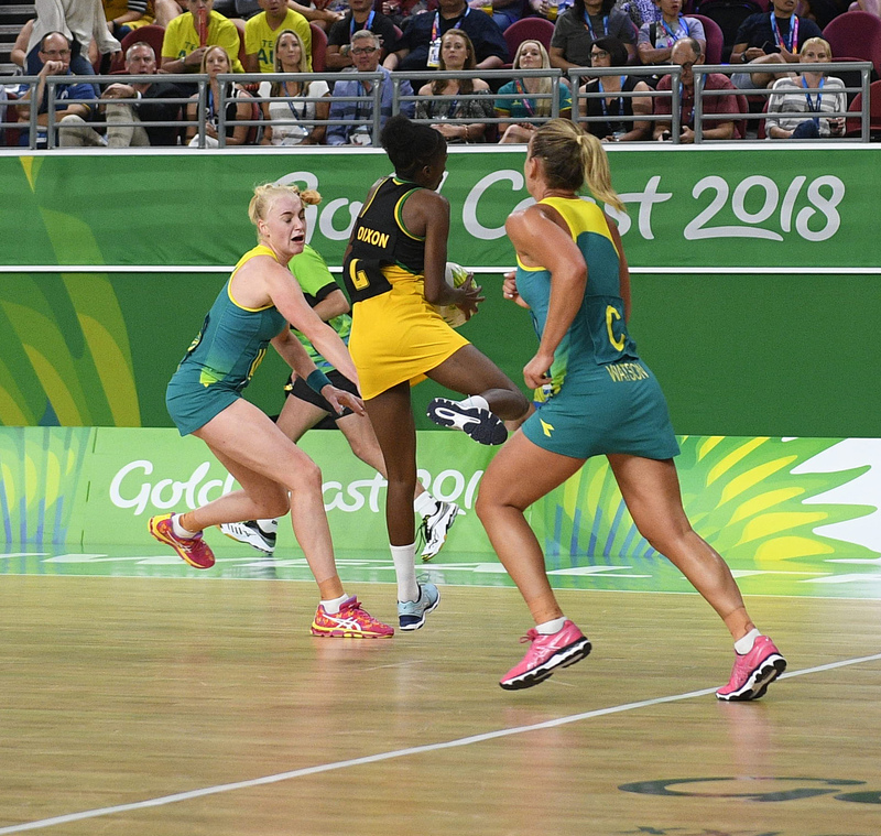 _GRG0104.jpg :: Wales v Scotland in action during Gold Coast 2018 Games at Gold Coast Convention Centre Gold Coast Australia on April 11 2018. Graham / GlennSports.