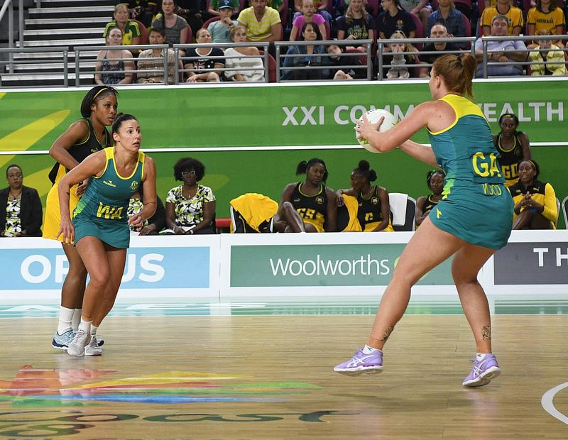 _GRG0106.jpg :: Wales v Scotland in action during Gold Coast 2018 Games at Gold Coast Convention Centre Gold Coast Australia on April 11 2018. Graham / GlennSports.