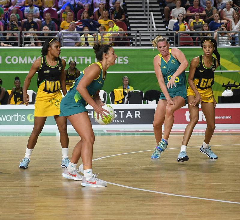 _GRG0113.jpg :: Wales v Scotland in action during Gold Coast 2018 Games at Gold Coast Convention Centre Gold Coast Australia on April 11 2018. Graham / GlennSports.